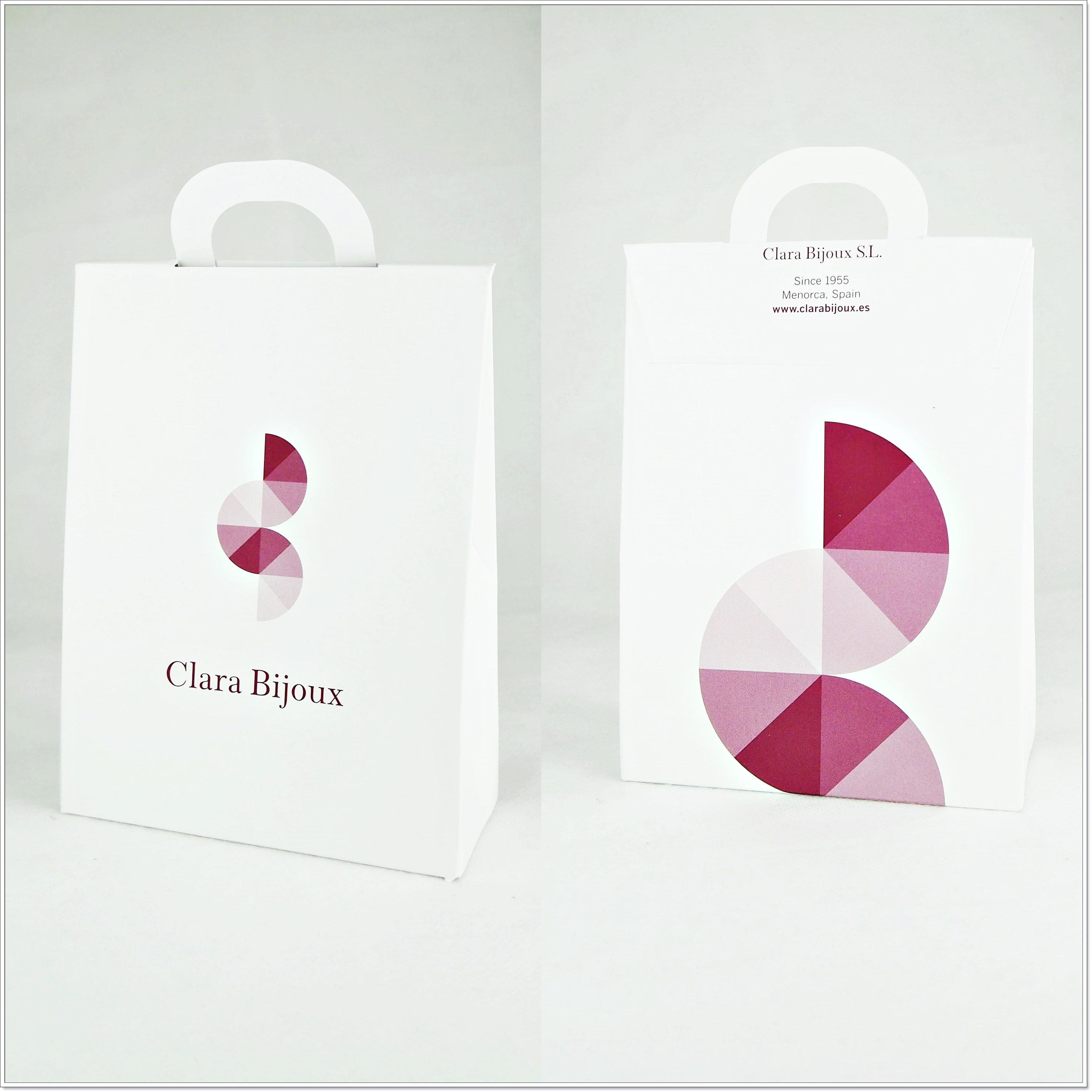 Clara Bijoux オリジナルギフトバッグ